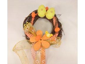 Velikonoční věnec vajíčka