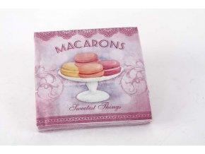 Ubrousky papírové Macarons 33x33cm