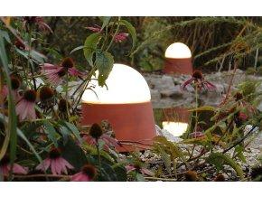 Svítidlo zahradní kaštan 27cm