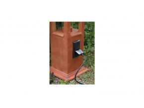 Zásuvka dvojitá pro maják 9x16cm