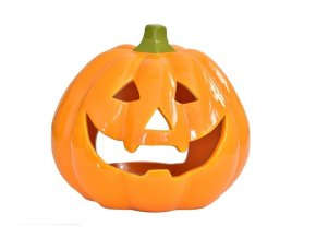 Svícen halloweenská dýně