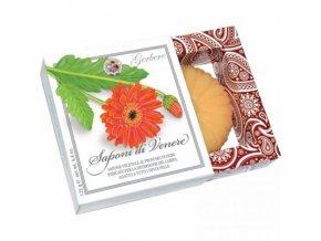 Mýdlo | Gerbere Arancio | v dárkové krabičce | 125g
