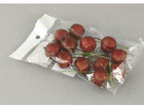 Sada jablíček s drátkem 12 kusů