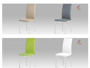 Jídelní židle koženková 43x41x99x48cm
