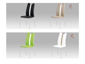 Jídelní židle koženková 44x42x97x45cm