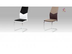 Jídelní židle koženková 44x44x100x47cm