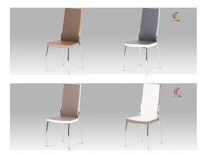 Jídelní židle koženková 45x43x100x46cm