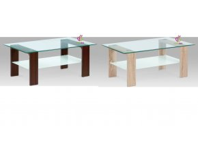 Konferenční stolek skleněný | 110x65x45cm