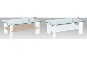 Konferenční stolek skleněný | 110x70x42cm