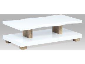 Konferenční stolek dub Canyon grey lesklý