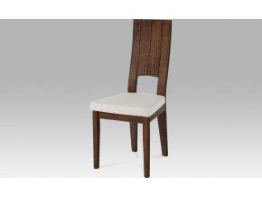 Jídelní židle ořech 46x46x102x49cm