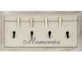 Tabulka na vzkazy a vzpomínky