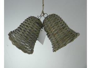 Zvonek set 2kusy 18x11x10 cm