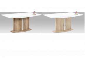 Jídelní stůl na centrální noze 160x90cm