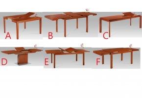 Jídelní stůl rozkládací třešeň