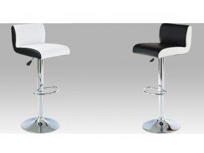Barová židle koženková 39x36x101x83cm