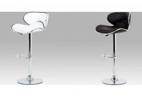 Barová židle koženková 46x48x103x80cm