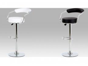 Barová židle koženková 52x50x103x83cm