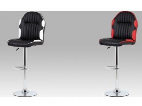 Barová židle koženková 44x38x127x85cm