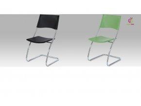 Jídelní židle koženková 44x44x90x46cm