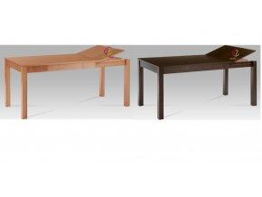 Jídelní stůl dřevěný rozkládací 164x80cm