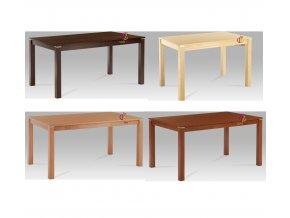 Jídelní stůl s kovovým zdobením 150x90cm