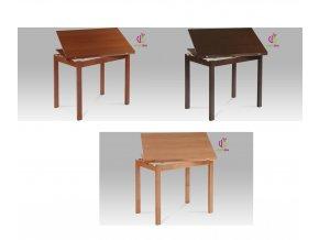 Jídelní stůl dřevěný rozkládací 120x90cm