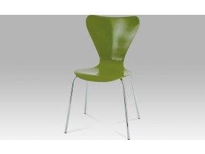 Jídelní židle zelená 50x50x82x44cm