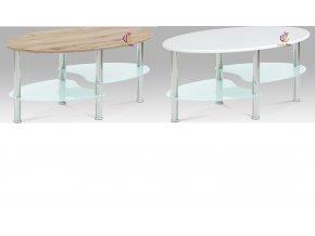 Konferenční stolek | kovová konstrukce | vrchní deska dekor dřeva