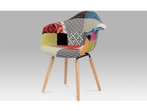 Jídelní židle patchwork | masiv buk