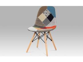 Jídelní židle patchwork | nohy masiv buk