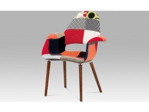 Jídelní židle patchwork | ořech