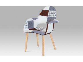 Jídelní židle patchwork | natural