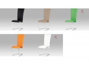 Jídelní židle koženková 44x42x102x47cm