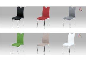 Jídelní židle koženková 43x46x96x48cm