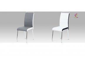 Jídelní židle koženková 43x43x100x48cm