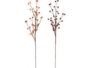 Dekorační podzimní větev 45cm