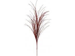 Vánoční větvička se třpytkami 50cm
