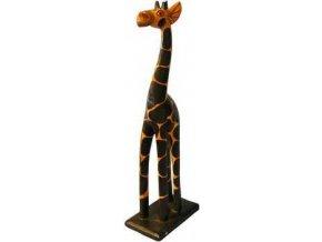Dřevořezba žirafa 40cm