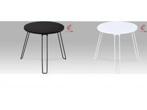Odkládací stolek | kovová konstrukce