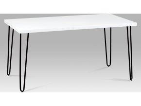 Jídelní stůl černobílý 150x80cm