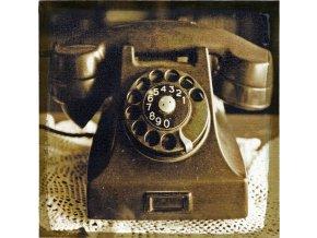 Obraz na lněném plátně Telefon