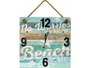 Závěsné hodiny Beach