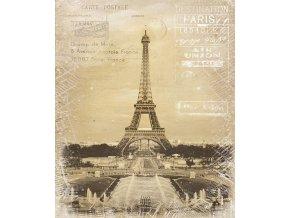 Obraz plátno Paříž