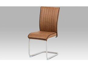Jídelní židle látka | broušený nerez