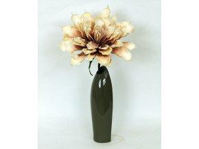Váza keramická šedá
