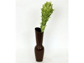 Váza keramická hnědná