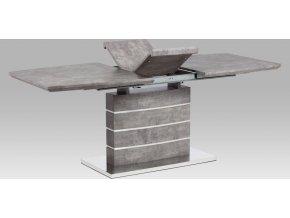 Jídelní stůl rozkládací dekor beton 200x90cm