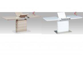 Jídelní stůl rozkládací lesklý 180x80cm