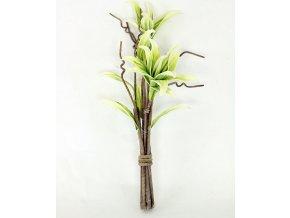 Umělá Magnolie ve vazbě béžovozelená pěnová